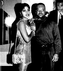 Toni Braxton and Bryant Reid