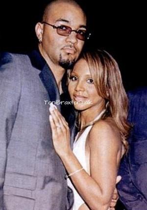 Toni Braxton and Keri Lewis in 2000