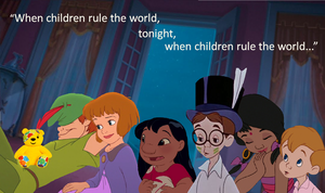 """Tonight When Children Rule The World..."""
