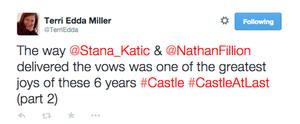 Tweet about Stanathan(November,2014)