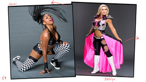 Unseen Photos - Naomi and Natalya