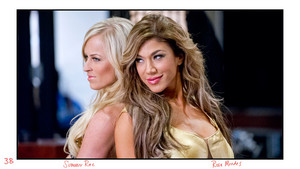 Unseen Photos - Summer Rae and Rosa Mendes