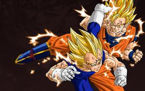 Vegeta vs Goku