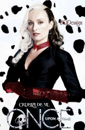 Victoria Smurfit as Cruella De Vil