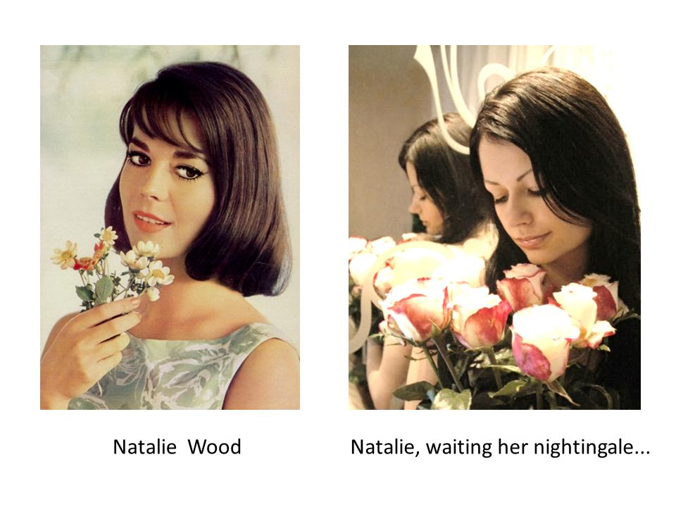 Waiting her nightingale