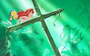 Walt Disney Book images - patauger, plie grise & Princess Ariel