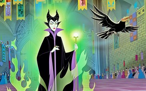 Walt Disney Book larawan - Maleficent & Diablo