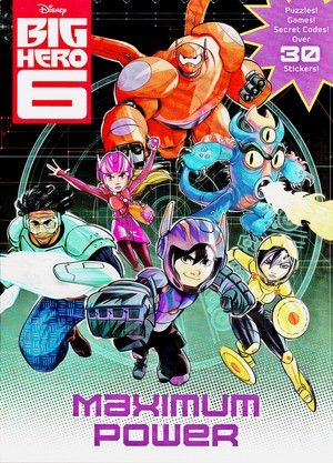 Walt Disney Coloring libri - Big Hero 6: Maximum Power