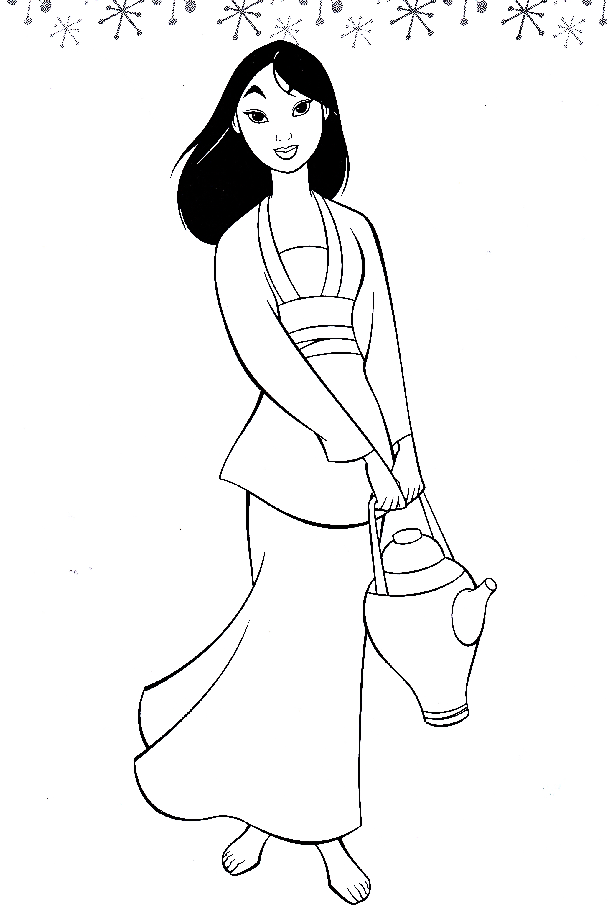 Walt disney Coloring Pages - Fa mulan