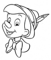 Walt 迪士尼 Coloring Pages - Pinocchio