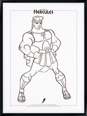 Walt 디즈니 팬 Art - Hercules