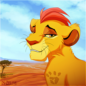 Walt Disney Fan Art - Kion