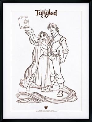 Walt Disney Fan Art - Princess Rapunzel & Eugene Fitzherbert
