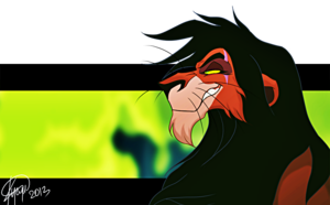 Walt Disney Fan Art - Scar