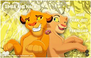Walt Disney Fan Art - Simba & Nala