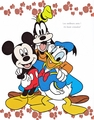Walt 迪士尼 图片 - Mickey Mouse, Goofy Goof & Donald 鸭
