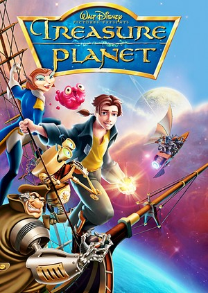 Walt ডিজনি Posters - Treasure Planet