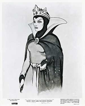 Walt Disney Sketches - Queen Grimhilde