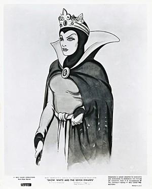 Walt disney Sketches - queen Grimhilde