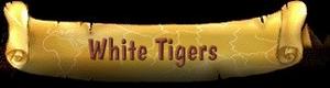 White Tiger Banner