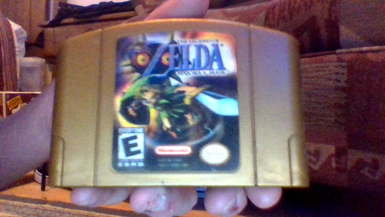 Windwakerguy430's Golden Cartridge of Legend of Zelda
