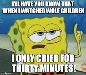 늑대 Children Meme
