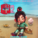Wreck-It Ralph 2 Beach Icon (Where the Monkey Milk are we?) - wreck-it-ralph icon