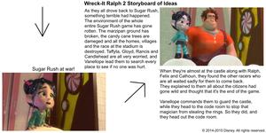 Wreck-It Ralph 2 Storyboard of Ideas 7