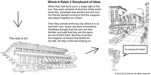 Wreck-It Ralph 2 Storyboard of Ideas 9