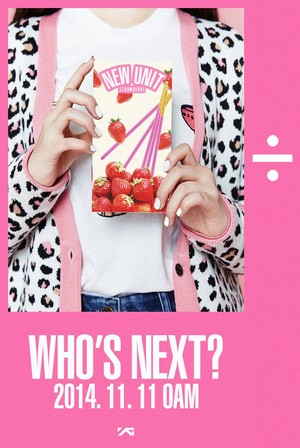 YG Entertainment continues to ask, 'Who's Next?', with a màu hồng, hồng 'new unit' teaser image