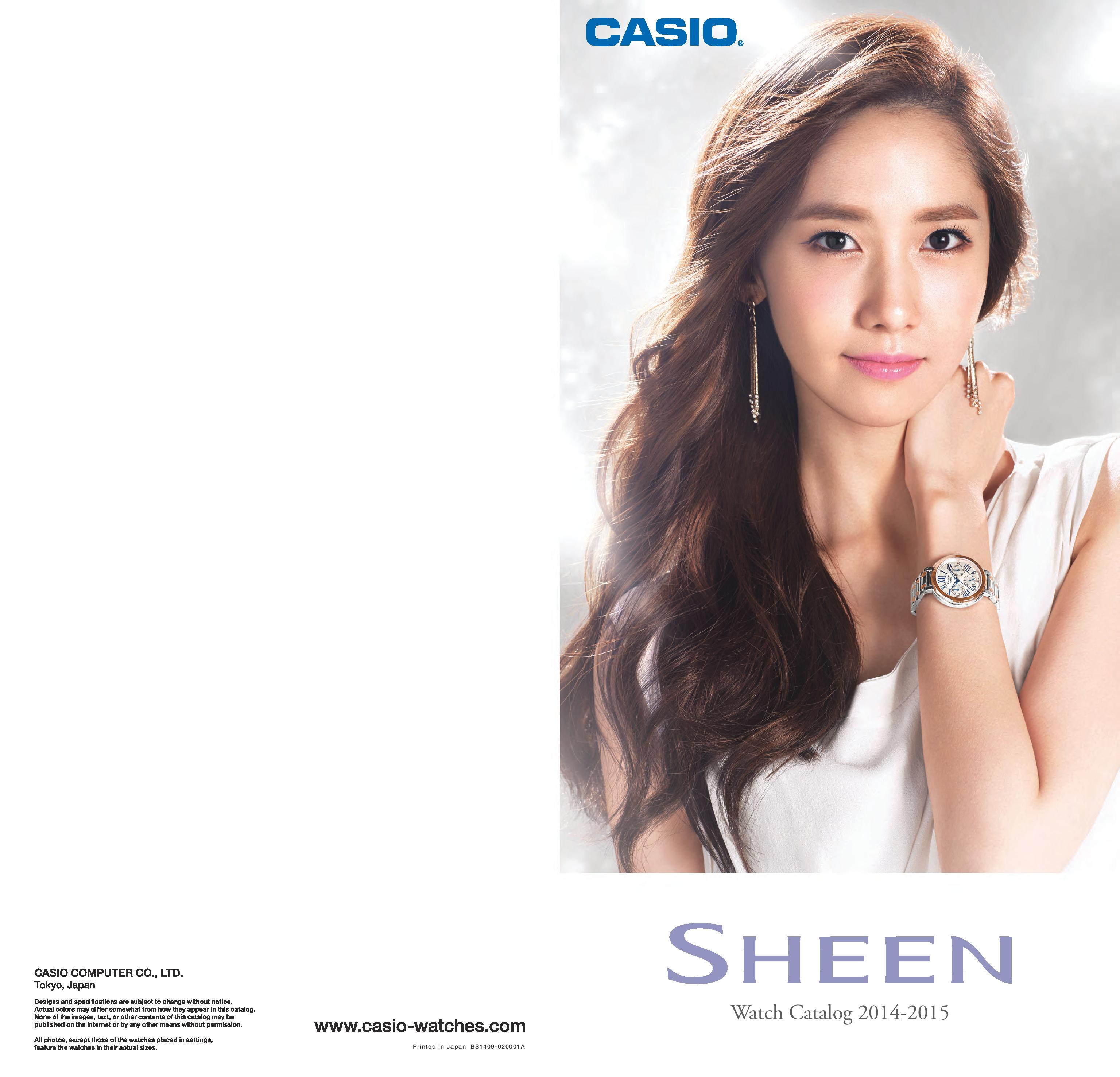 Yoona Casio Sheen