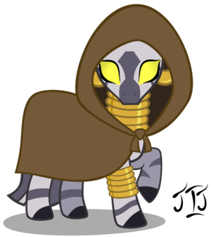 Zecora the cebra