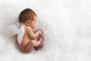 angel baby wings