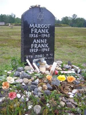 anne frank grave