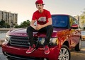 austin on his range rover - austin-mahone photo