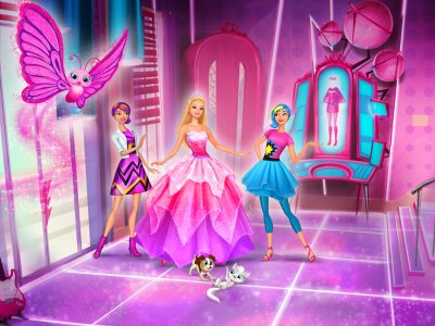 Les Films Barbie Fond Decran Called In Princess Power