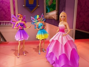 búp bê barbie in princess power
