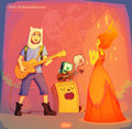 fire inside my heart - flame-princess photo