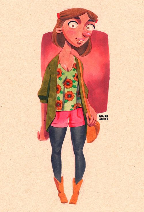 Hey Arnold Fan Art Grown Up