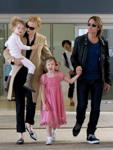 Keith Urban Hintergrund entitled Keith and His Family