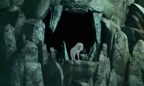Alpha and Omega 4: The Legend of Saw Tooth Cave karatasi la kupamba ukuta called lots of daria