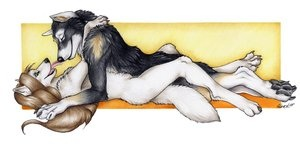 me and alphawolfklate
