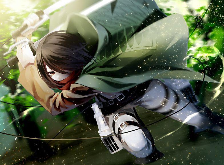 Фото на аву аниме атака титанов