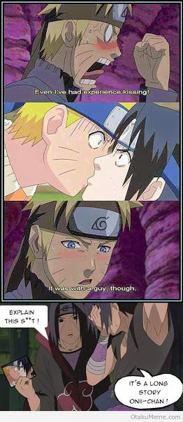 나루토 sasuke funny