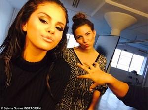 Selena sporting a Kylie look