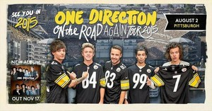 On The Road Again announcement posters