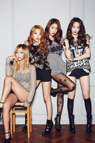 SISTAR (씨스타) wallpaper with bare legs called Sistar for Ceci Magazine September Issue '14