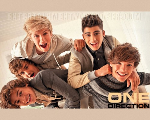 One Direction fond d'écran possibly with a sign and a chaussée entitled one direction