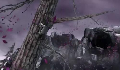 Alpha and Omega 4: The Legend of Saw Tooth Cave karatasi la kupamba ukuta titled runt's nightmare