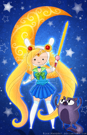 sailor Fionna and Cake